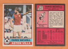 Aston Villa Chris Nicholl Northern Ireland